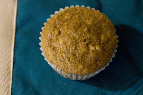 Maple Brown Sugar Oatmeal Muffin