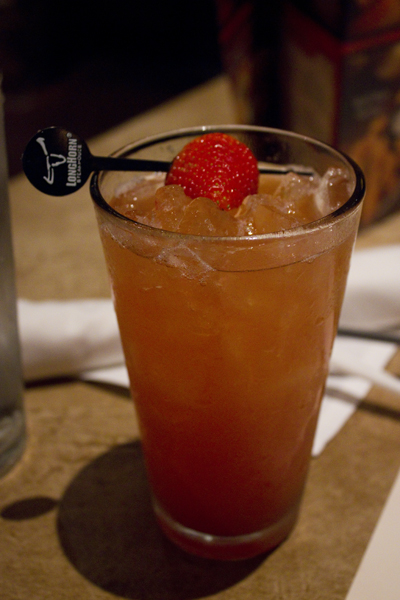 Longhorn Steakhouse Drink