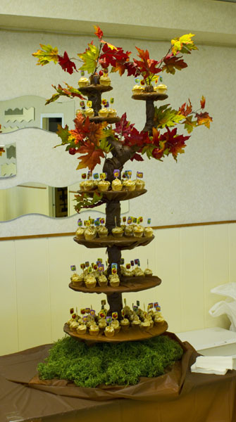 Apple Cupcake Tree