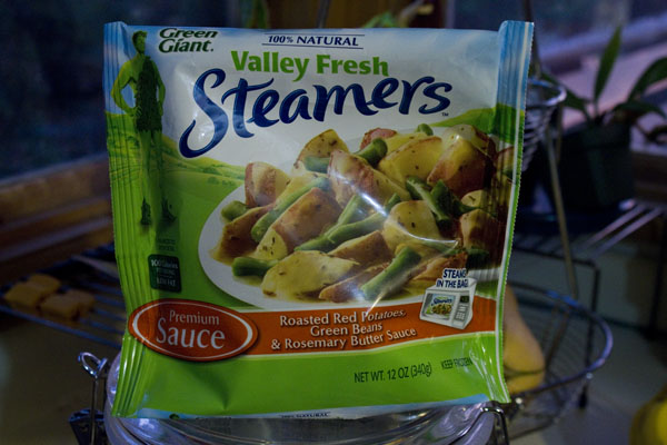 Green Giant Steamer