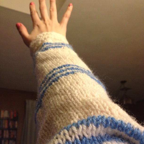 Sweater Arm