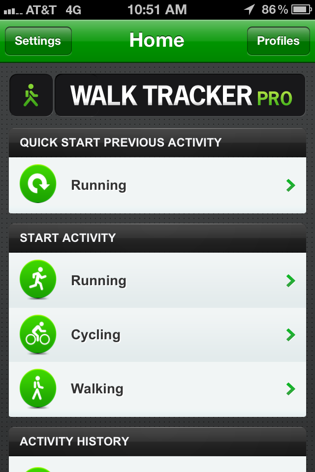 Walk Tracker
