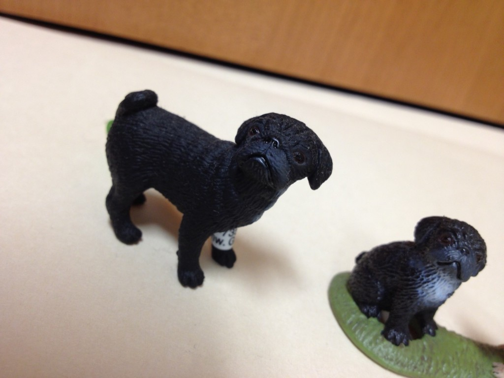 Schleich Pugs